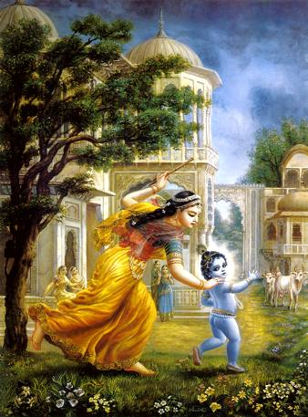 Lord Krishna & Ma Yashoda